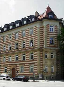 Steiner Haus, Türkenstr. 103, 2013, Foto: Volker Steiner
